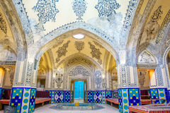 Sultan Amir Ahmad Bathhouse in Kashan, Iran stock photo
