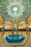 Sultan Amir Ahmad historiskt bad, Kashan fotografering för bildbyråer