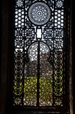 Sultan barqoq door motif in Egypt Stock Photography