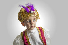 Sultan child royalty free stock image