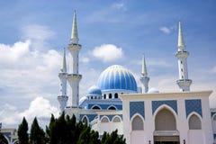 sultan de mosquée de l'ahmad i Malaisie Photographie stock