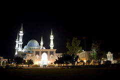 sultan de mosquée de l'ahmad i Malaisie Images libres de droits