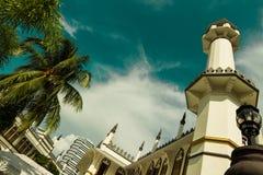 sultan de Singapour de mosquée photographie stock libre de droits