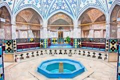 Sultan-Emir Ahmad historisches Bad, der Iran Lizenzfreie Stockfotos