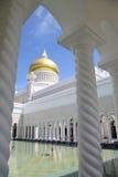 sultan för ali brunei moskéomar saifuddin Arkivfoto