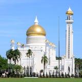 sultan för ali brunei moskéomar saifuddin Royaltyfri Foto