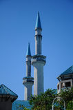 Sultan Haji Ahmad Shah Mosque a K eine UIA-Moschee in Gombak, Malaysia Lizenzfreies Stockbild