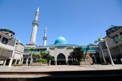 Sultan Haji Ahmad Shah Mosque a.k.a UIA Mosque in Gombak, Malaysia. KUALA LUMPUR, MALAYSIA – JANUARY, 2015: The Sultan Haji Ahmad Shah Mosque is situated royalty free stock image