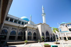 Sultan Haji Ahmad Shah Mosque a.k.a UIA Mosque in Gombak, Malaysia. KUALA LUMPUR, MALAYSIA – JANUARY, 2015: The Sultan Haji Ahmad Shah Mosque is situated at Royalty Free Stock Images