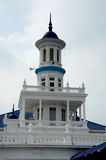 The Sultan Ibrahim Jamek Mosque at Muar, Johor Royalty Free Stock Photos