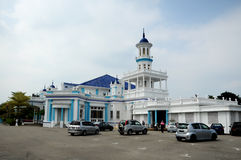 The Sultan Ibrahim Jamek Mosque at Muar, Johor Stock Images
