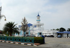 Sultan Ibrahim Jamek Mosque at Muar, Johor Royalty Free Stock Photography