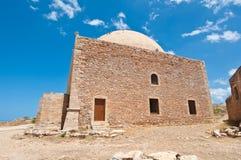 Sultan Ibrahim mosque. Fortezza on the island of Crete, Greece. Stock Photo
