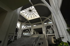 Sultan Ismail Airport Mosque - aeropuerto de Senai, Malasia fotos de archivo