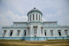 Sultan Ismail Mosque in Muar stock fotografie