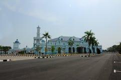 Sultan Ismail Mosque in Muar Stockfotografie