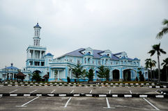 Sultan Ismail Mosque in Muar Royalty Free Stock Photography