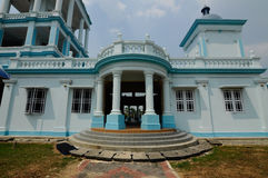 Sultan Ismail Mosque in Muar. JOHOR, MALAYSIA – JANUARY, 2014: Sultan Ismail Mosque also known as Muar 2nd Jamek Mosque is next to Tanjung Agas, Muar stock photos