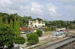 Sultan Mahmud Mosque In Kuala Lipis, Pahang Stock Images