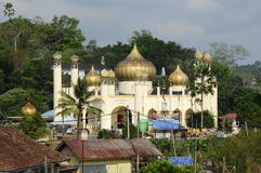 Sultan Mahmud Mosque In Kuala Lipis, Pahang Stock Images