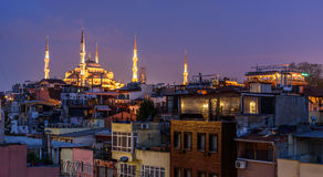 Sultan Mehmet mosque ,Istanbul Stock Images