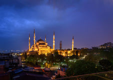 The Sultan Mehmet Mosque Istanbul,Turkey Royalty Free Stock Photo
