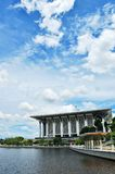 Sultan Mizan Mosque Putrajaya. Sultan Mizan Mosque in Lakeside at Putrajaya, Malaysia Stock Image