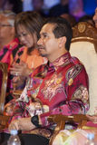 Sultan Mizan Zainal Abidin, King of Malaysia. KUALA LUMPUR, MALAYSIA-MAY 21: Yang di-Pertuan Agong, Sultan Mizan Zainal Abidin, King of Malaysia during the Royalty Free Stock Image