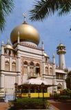 Sultan-Moschee Singapur lizenzfreies stockfoto