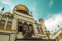 Sultan-Moschee, Singapur Lizenzfreie Stockfotografie