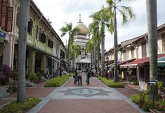 Sultan mosk singapore Royalty Free Stock Image
