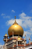 Sultan Mosque Stock Photo