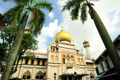 Sultan Mosque Stock Photography