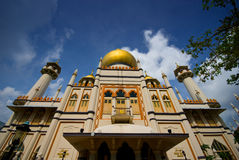 Sultan mosque Stock Images