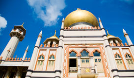 Sultan Mosque Royalty Free Stock Images
