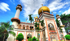 Sultan Mosque Stockfoto