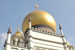 Sultan Mosque bonito em Singapura fotografia de stock