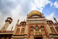 Sultan Mosque Stock Photo