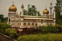Sultan Mosque Replica, Singapore. Stock Image