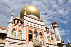 Sultan mosque (Singapore) Royalty Free Stock Photos