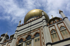 Sultan Mosque, Singapore. Sultan Mosque in Singapore. Named in honour of the Sultan of Singapore. One of Singapore's most famous religious buildings Royalty Free Stock Photo