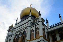 Sultan Mosque, Singapore. Islamic Sultan Mosque in Singapore stock image