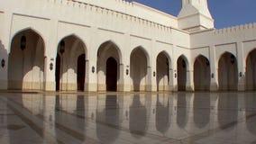 Sultan of Oman mosque in Salalah Oman stock footage