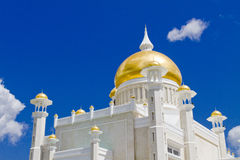 Sultan Omar Ali Mosque, Brunei Stock Photo