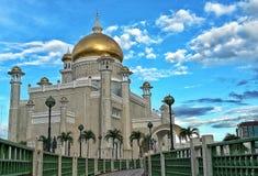 Sultan Omar Ali Saifuddien Mosque Fotos de archivo