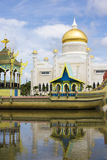 Sultan Omar Ali Saifuddien Mosque, Brunei Royalty Free Stock Images