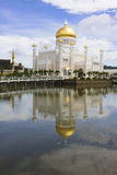 Sultan Omar Ali Saifuddien Mosque, Brunei Stock Photo