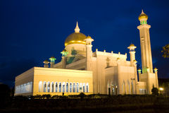 Sultan Omar Ali Saifuddien Mosque, Brunei Stock Photography