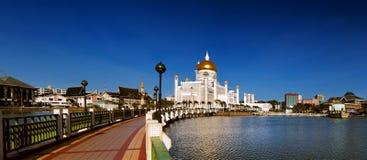 Sultan Omar Ali Saifuddien Mosque in Brunei Stock Image