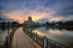 Sultan Omar Ali Saifuddin Mosque Stock Fotografie
